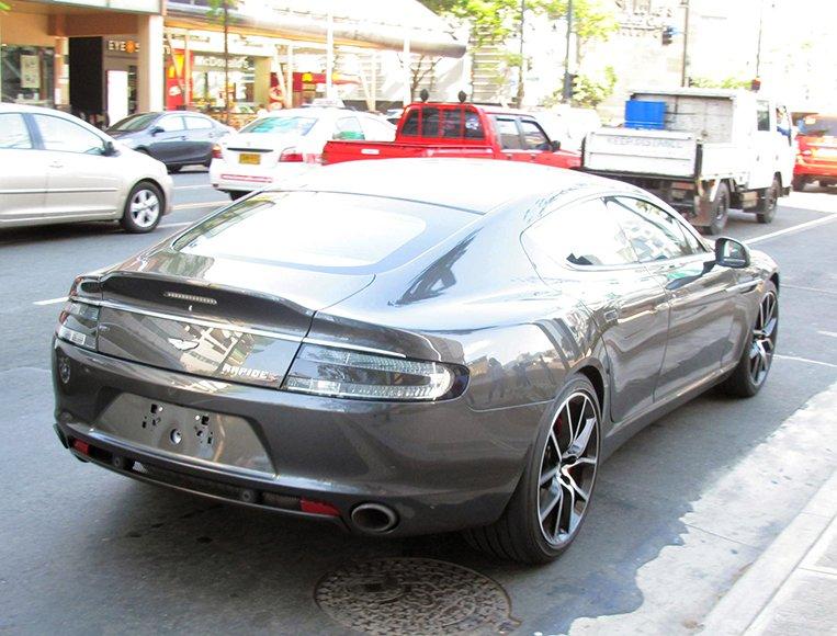 Aston Martin Rapide S Gone In 60 Minutes Visor Ph