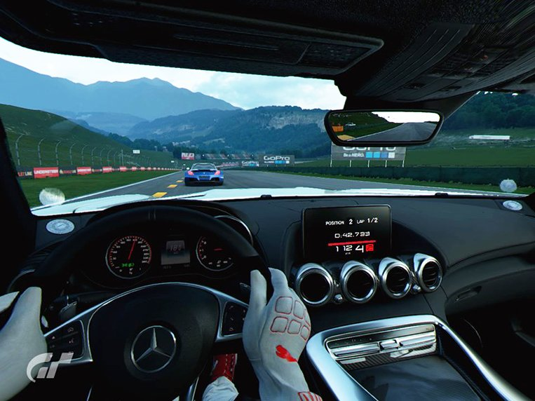 first impressions gran turismo sport in virtual reality. Black Bedroom Furniture Sets. Home Design Ideas