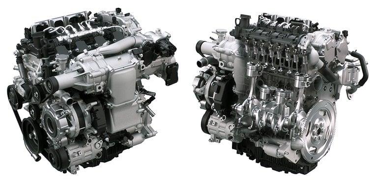 Afbeeldingsresultaat voor mazda 3 skyactiv x engine