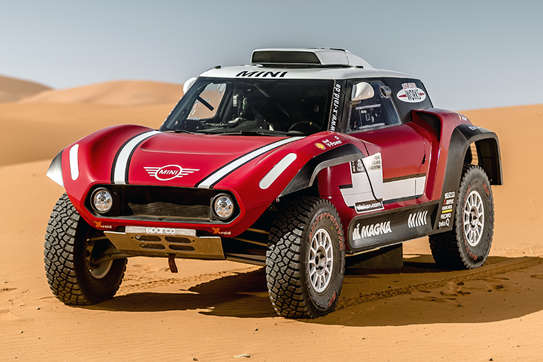 This Rwd Mini Buggy Is Competing In Dakar Rally Visor Ph