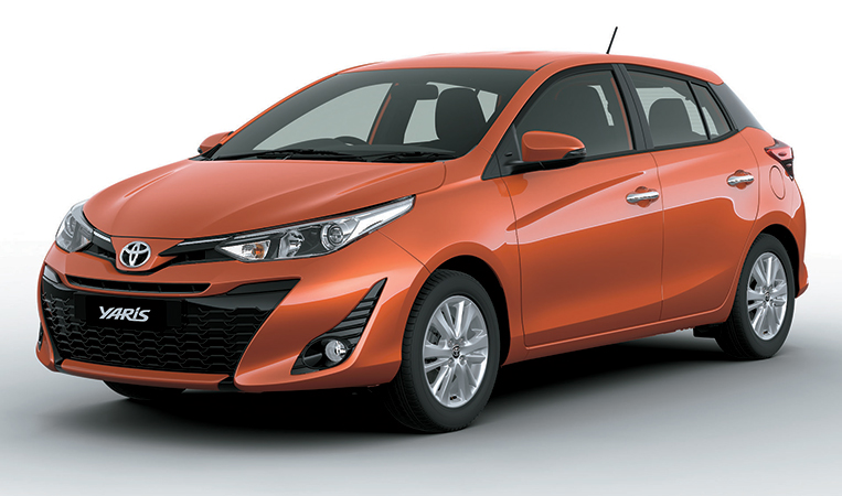 The Underrated Toyota Yaris Gets A Facial Treatment Visor Ph