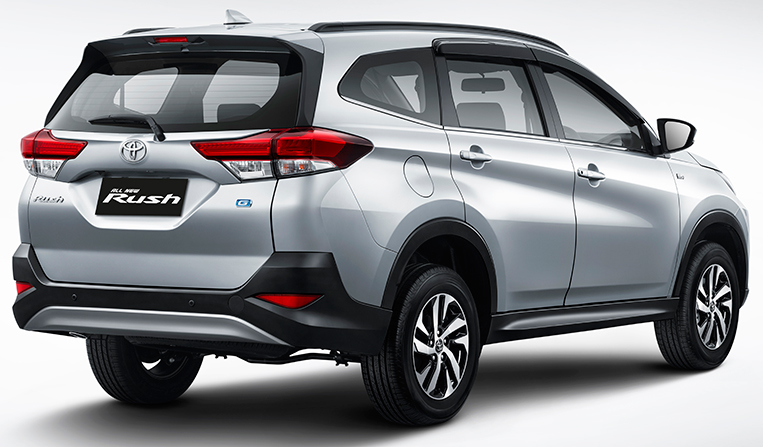 Offering Seven Seats In A Compact SUV Body, The Rush Should Be A Hit With  Families. PHOTO FROM TOYOTA