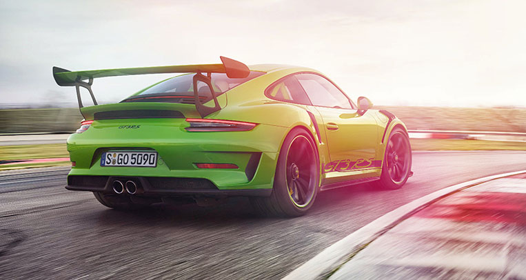 Porsche Unleashes The New 911 Gt3 Rs Visor Ph