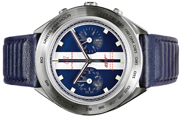 The Autodromo Ford Gt Endurance Chronograph With The Ford Racing Stripes Photos From Autodromo