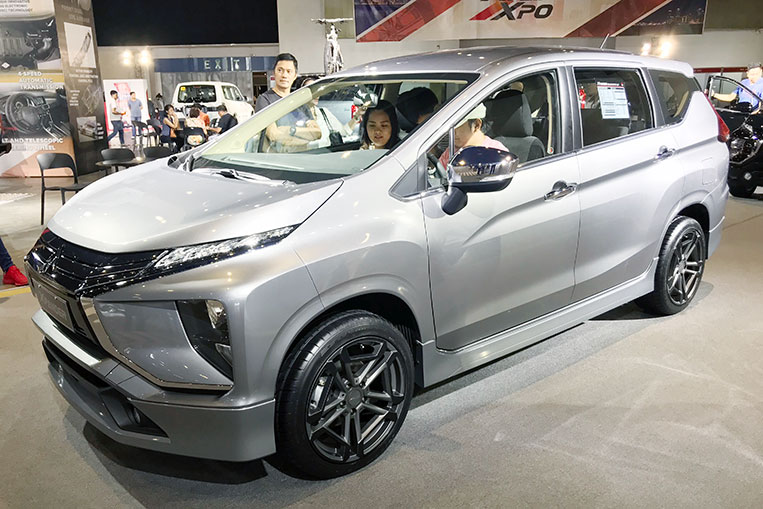 The Mitsubishi Xpander Looks Good With These Wheels