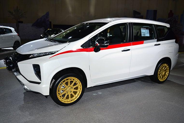 The Mitsubishi Xpander looks good with these wheels | VISOR PH