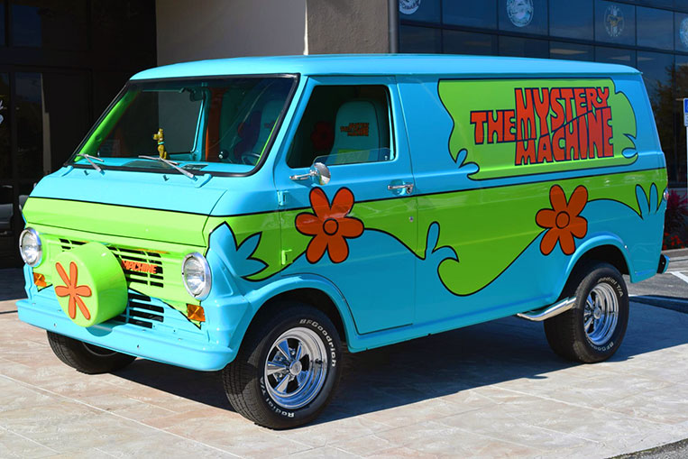 This Real Life Mystery Machine Will Make You Smile Visor Ph