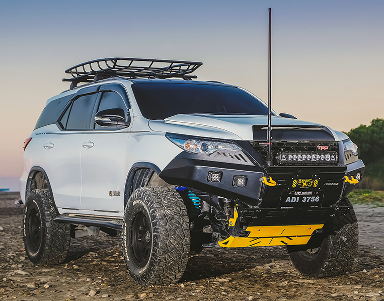 These bumpers will make your Fortuner look mean | VISOR PH