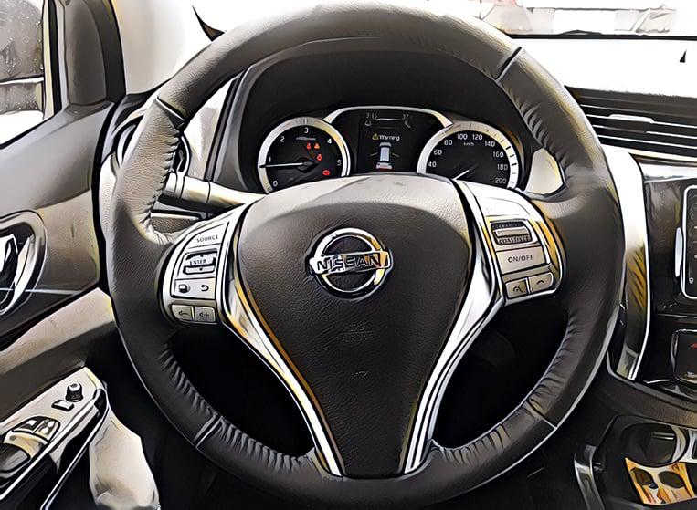 What The Nissan Terra Premium 4×4 Looks Like Inside