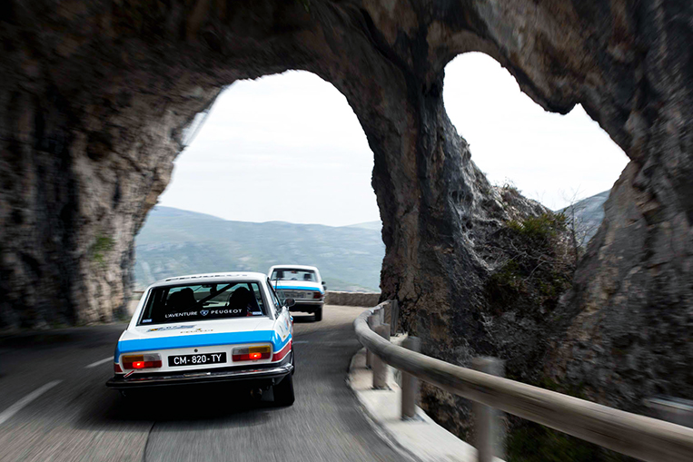 Classic Peugeot 504s Survive Paris-to-Nice Road Rally