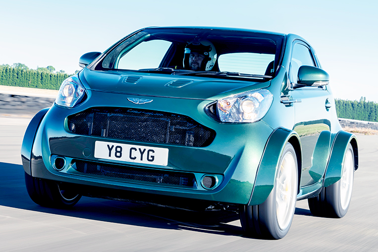 Remember The Aston Martin Cygnet It Has A V8 Engine Now Visor Ph