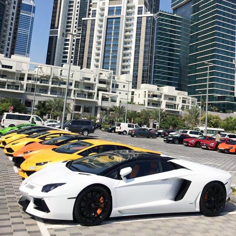 Supercars Dubai Rent - Supercars Gallery