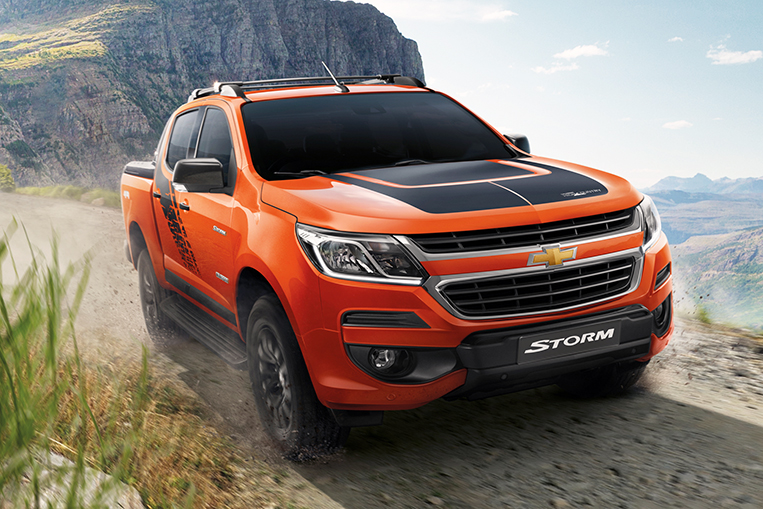 Chevrolet Ph Brings In The Colorado High Country Storm Visor Ph