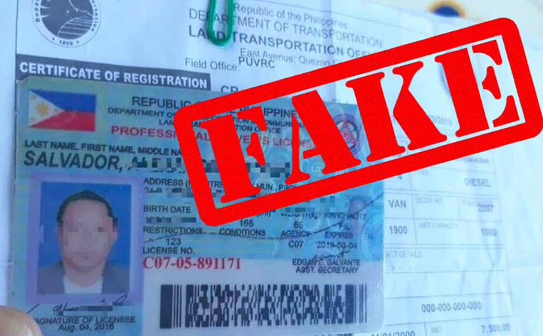 one penalty associated with using a fake drivers license is: