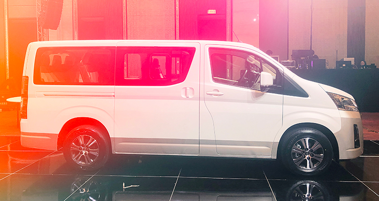 The all-new Toyota Hiace doesn't look familiar | VISOR PH