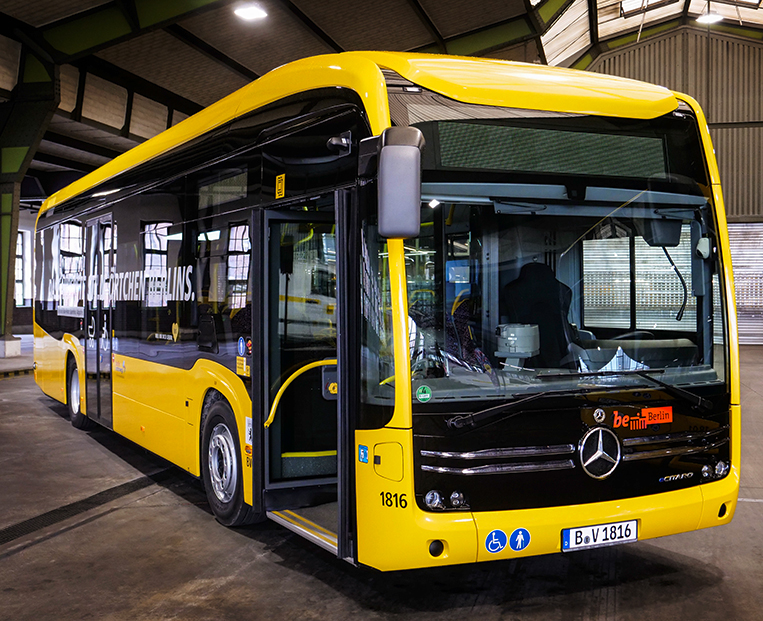 cbf0ce2769 Who wouldn t want to ride clean and quiet electric buses to work every day   PHOTO FROM MERCEDES-BENZ