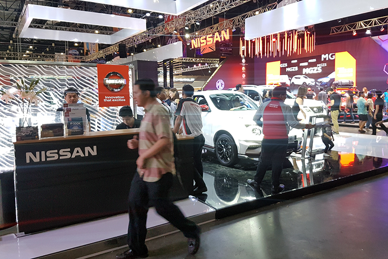 At MIAS 2019, Nissan's booth was the best of the lot | VISOR PH
