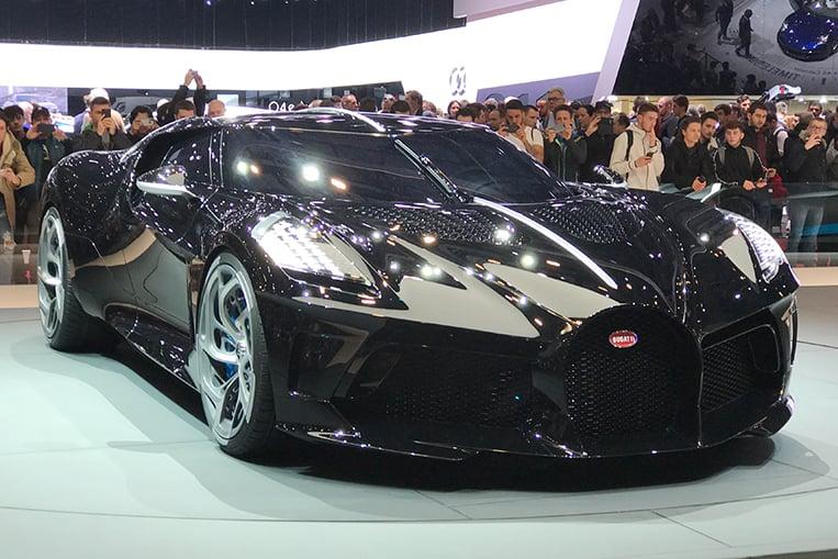 Bugatti la voiture noire owner