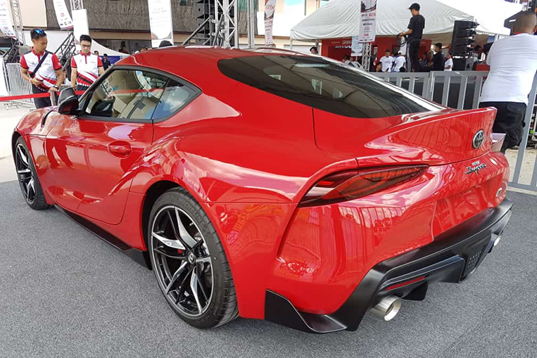 Toyota Ph To Launch Much Awaited Supra Sports Car In July