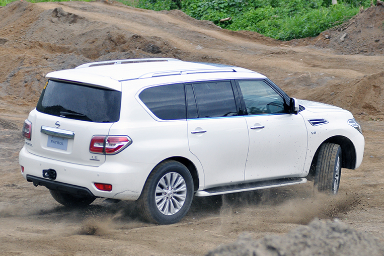 I now know why self-important people love the Nissan Patrol
