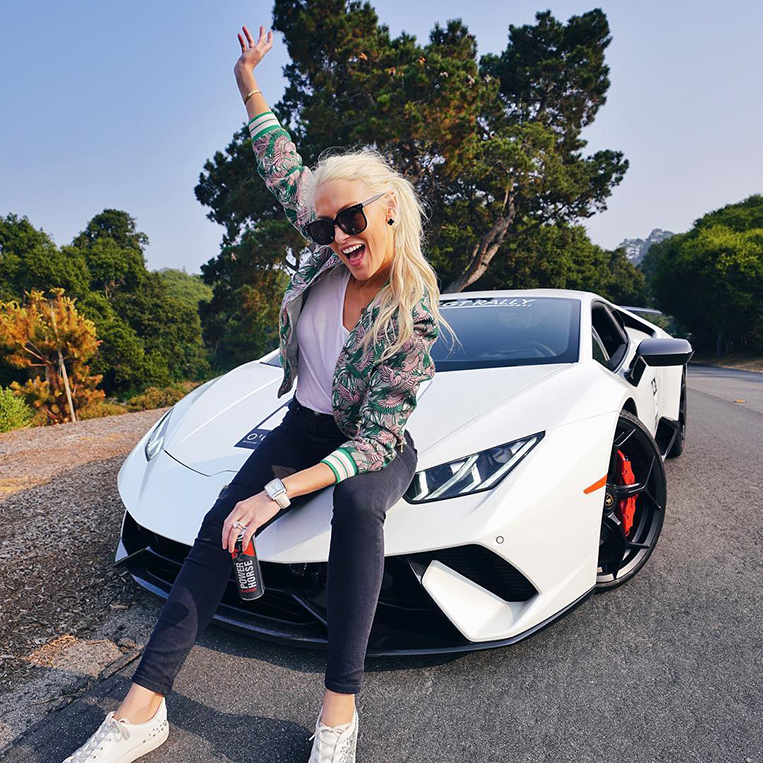 Supercars Gallery: Supercar Blondie Lamborghini Lucy