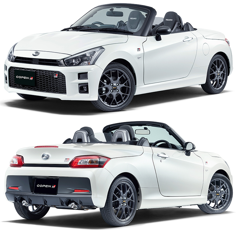 In Japan, The Daihatsu Copen Is Toyota's New Sports Car