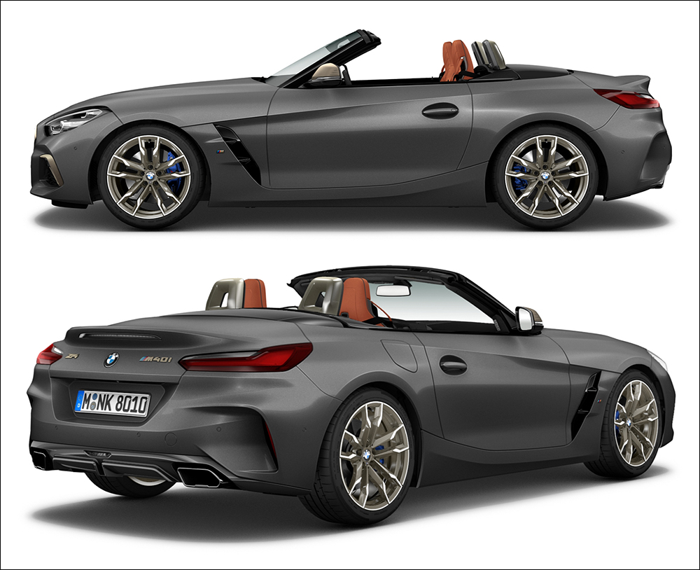 BMW PH is selling 5 units of the Z4 M40i Frozen Edition ...