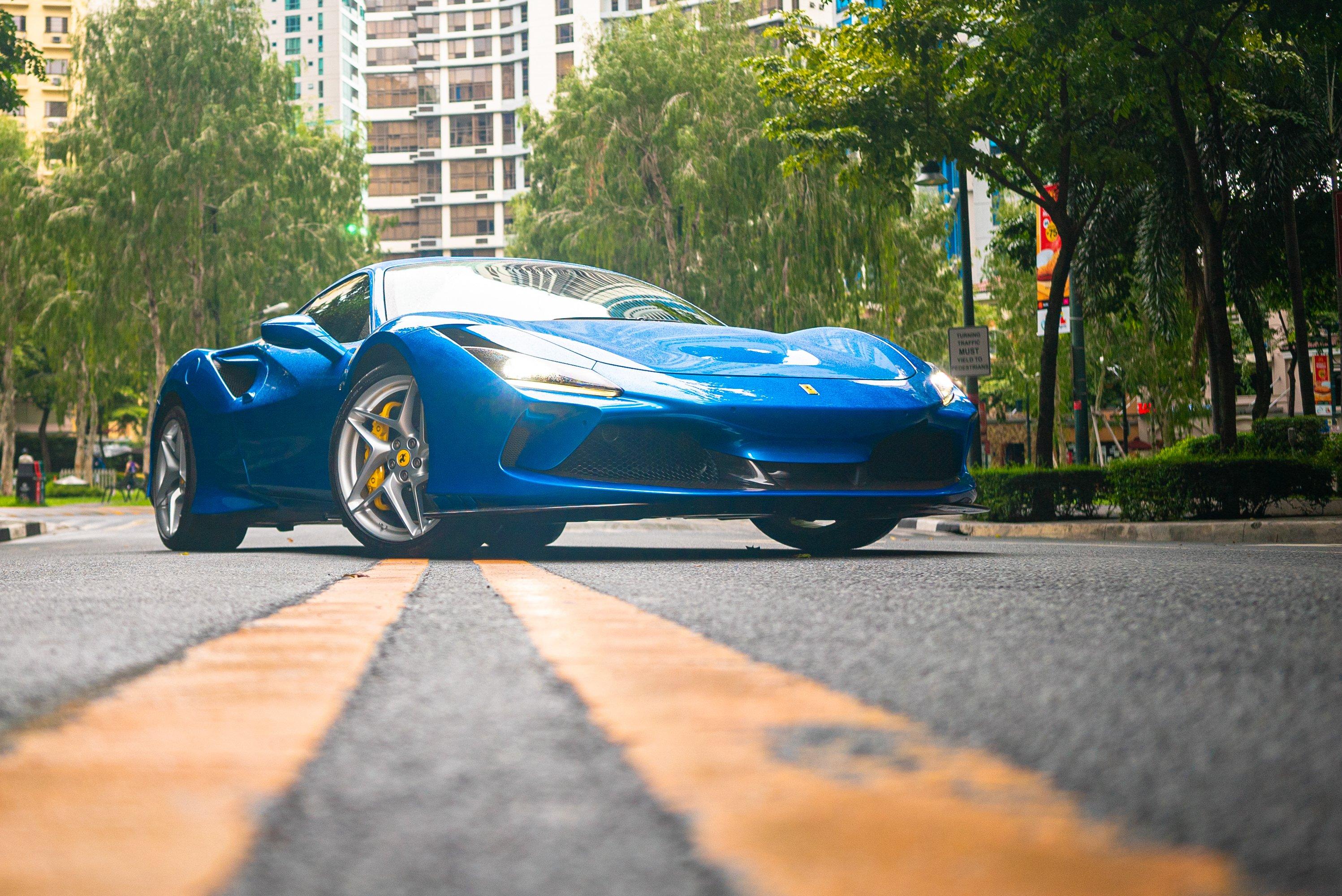 Just Launched The Ferrari F8 Tributo Visor Ph